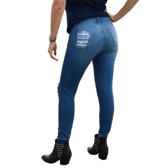 Pack 12 Jeans Elastizados Chupin Talles De 34 Al 46
