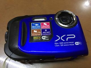 Gecel Finepix Xp70 Azul Sumergible 10 Metros