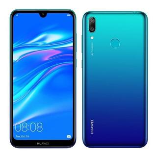 Huawei Y7 2019 4g 32gb Cam Dual 13mp+2mp Ram 3gb Octa Huella