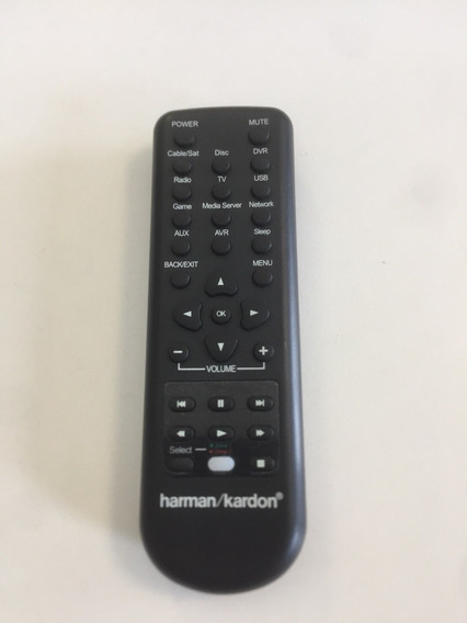 Controle Remoto Harman/kardon Zone I I