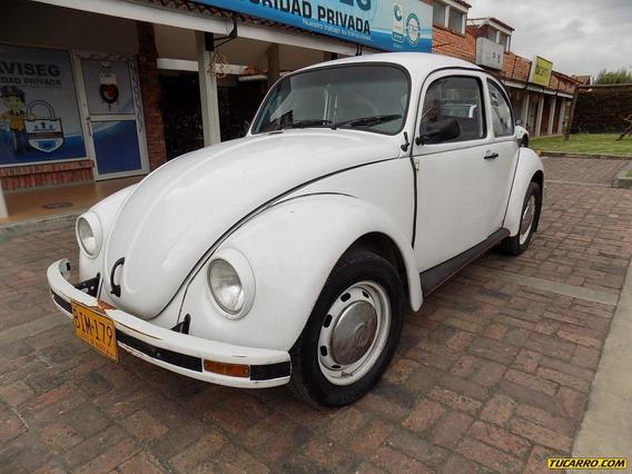 Volkswagen Escarabajo Coupe 1.6cc Mt