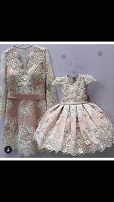 Vestido De Festa 1 Ano Mãe E Filha