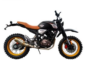 Moto Axxo Scrambler 2018 250cc Special Edition Ne/ve/pl
