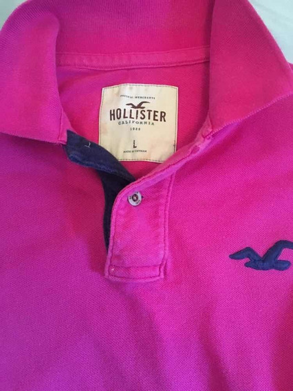 Camiseta Masculina Hollister Polo - Camisas Original