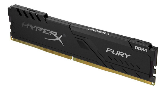 Memoria Ram Pc 8gb Kingston Hyperx Fury Ddr4 2666mhz