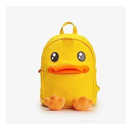 Mochila Escolar Para Niño Hermoso Color Amarillo