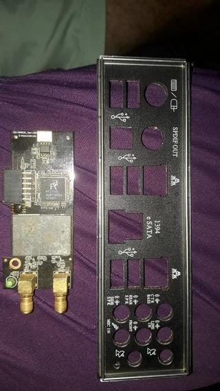 Asus P5q3 Deluxe- Espelho E Placa De Wi-fi