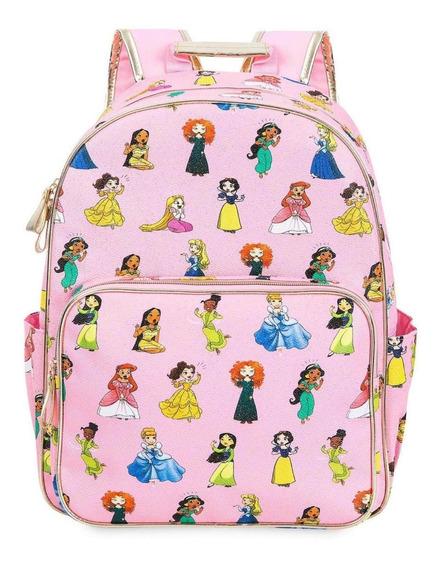 Mochila Con Lonchera Princesas Disney Store Envío Inmediato!