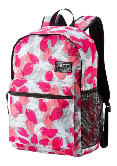 Mochila Puma Lifestyle Mujer Academy Backpack Bco-rosa Cli