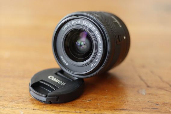 Lente Canon Ef-m 15-45mm F/3.5-6.3 Is Stm Grafite