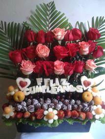 Ramos De Frutas - Arreglos De Frutas (precios Bajos)