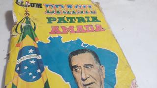 (655) Figurinhas Do Album Brasil Patria Amada