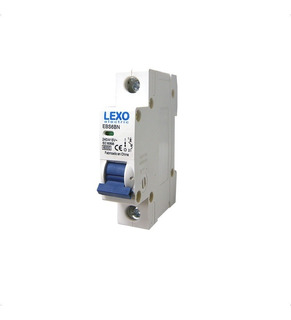 Interruptor Automatico 1x10a C 6ka Lexo