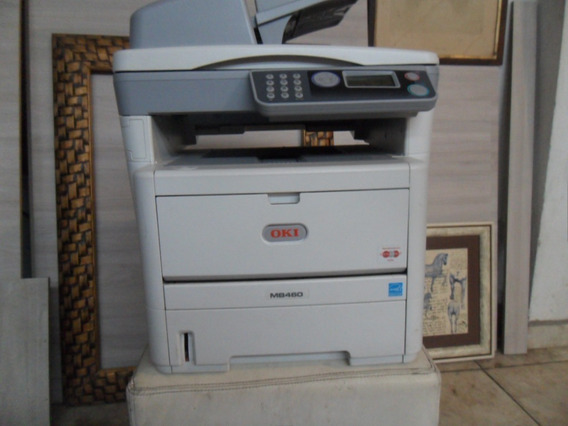 Impressora Oki Mb 460 Funcionando Perfeita Entrego Revisada