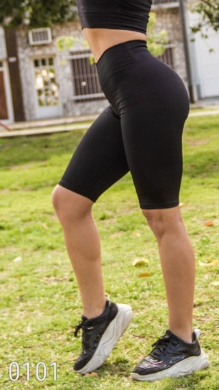 Calza Ciclista -mujer-negro O Gris