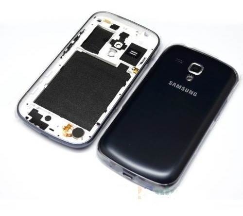 Tampa Bateria Aro Friso Intermediário Galaxy S Duos S7562 Pr