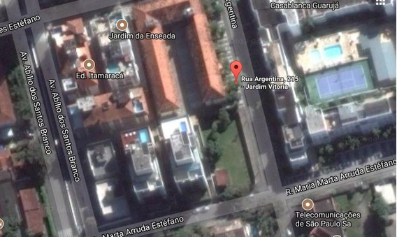 Terreno, Enseada - Guarujá - R$ 1.650.000,00, 820m² - - V4240