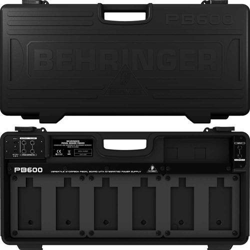 Behringer Pb600 Pedalboard Case Pedaltrain De 6 Pedales