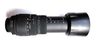 Sigma Lente 70-300mm F4-5.6 Dg Macro Para Sony A