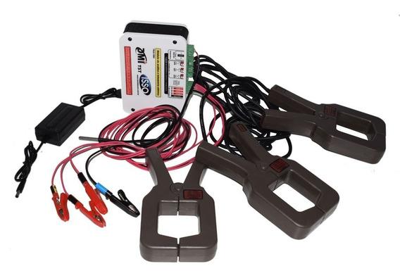 Kit Analisador Elétrico Tipo Tc Alicate 1000a Dmi T5t