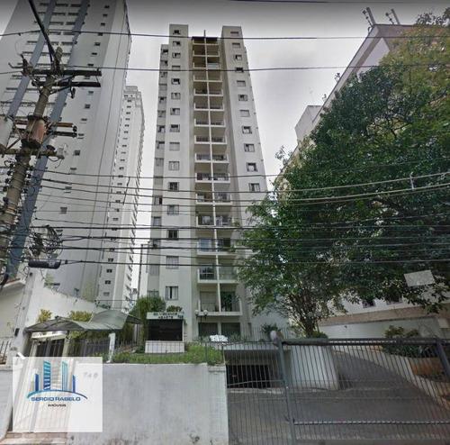 Imagem 1 de 26 de Apartamento Com 2 Dormitórios, 60 M² - Venda Por R$ 600.000,00 Ou Aluguel Por R$ 3.000,00/mês - Moema - São Paulo/sp - Ap1722