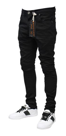 Jean Color Negro - Hombre
