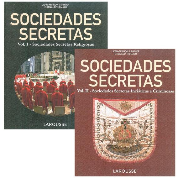 Livro Sociedades Secretas Religiosas Volume 1 Larousse