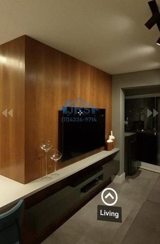 Condomínio Novare Alphaville Apartamento Com 1 Dormitório À Venda, 50 M² Por R$ 530.000 - Melville Empresarial Ii - Barueri/sp - Ap4022