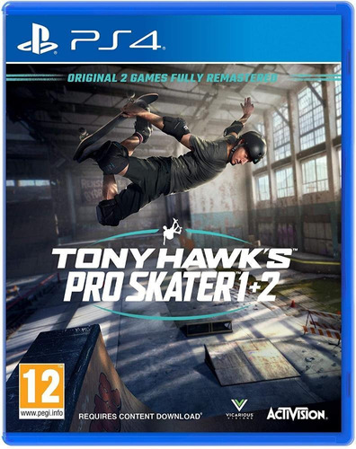 Tony Hawk's Pro Skater 1 + 2 - Ps4