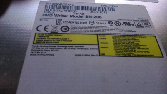 Leitor Cd Dvd Notebook Samsung Sn-208