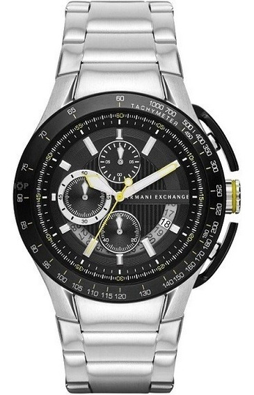 Relogio Armani Exchange Ax1408 Preto- Novo - Caixa - Manual