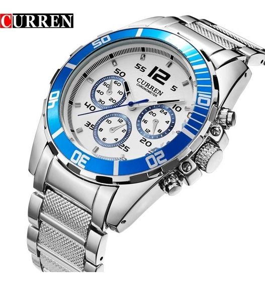 Relógio Curren Quartz De Luxo Masculino Barato