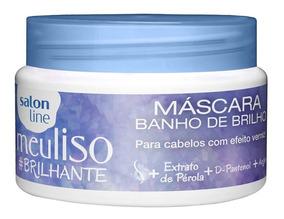 Máscara De Tratamento Salon Line Meu Liso #brilhante 300g