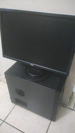 Computador Completo 4gb Ram Hd500gb - Sistema Já Instalado.