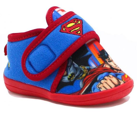 Pantufa Ricsen Botinha Infantil Super Homem Azul Superman
