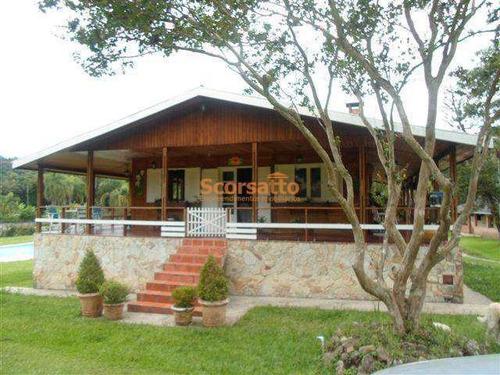 Chácara Com 4 Dorms, Mombaça, Itapecerica Da Serra - R$ 900 Mil, Cod: 761 - V761