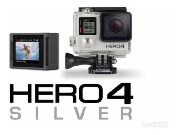 Gopro Hero Silver 4 + Acessórios Originais