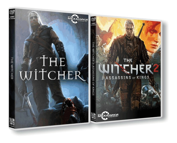 Combo: The Witcher 1 + The Witcher 2 Dvd Pc - Frete 8 Reais