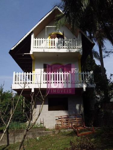 Chácara Com 2 Dormitórios À Venda, 3790 M² Por R$ 798.000,00 - Recanto Vital Brasil - Mauá/sp - Ch0011