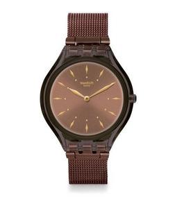 Relógio Swatch Skinchoc Original + Brinde + Nota