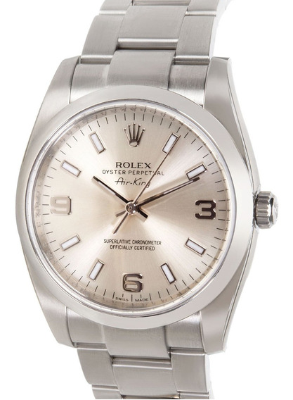 Rolex Air King 114200 Domino´s Pizza Novo E Original Com Nfe