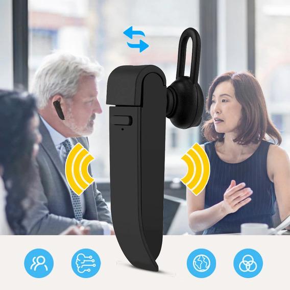 Tradutor Ouvido Bluetooth 22 Línguas Pronta Entrega Peiko