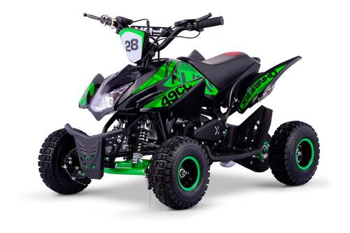 Mini Quadriciclo Infantil 49cc 2 Tempos Com Partida Elétrica