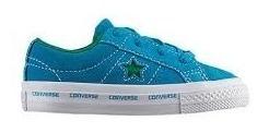 Tenis Converse One Star Aqua 759813c 10-14cm Bebe * Oferta *