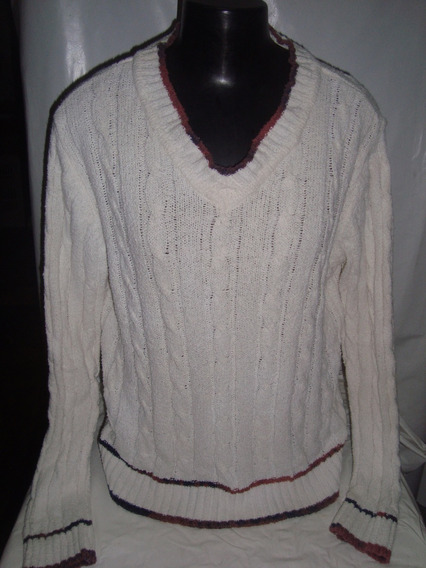 Malha De Lã Da Gap C/ Tranças Made In Korea Tam P C/ Defeito