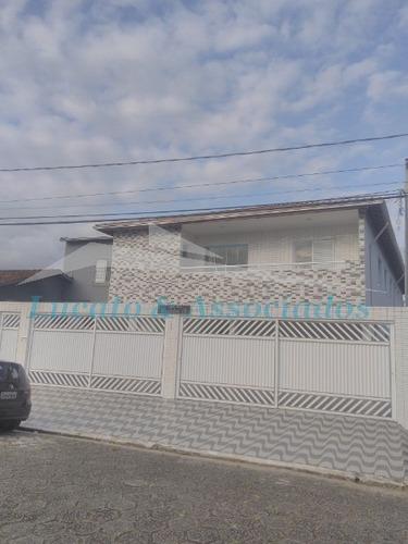 Sobrado Em Condomínio Fechado Na Vila Tupi Em Praia Grande Sp 02 Dormitórios, Sala, Cozinha, Banheiro Social, Lavabo E 01 Vaga De Garagem - So00124 - 34975521