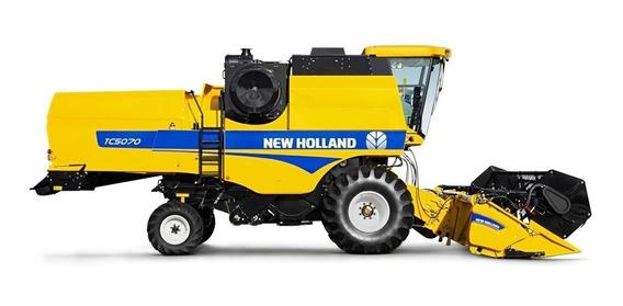 Adesivo Colheitadeira New Holland Tc 5070 2018/2019