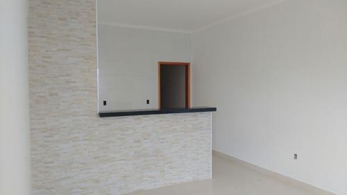 Casa Nova Para Venda No Planalto Verde, 2 Dormitorios, Amplo Quintal, Porcelanato Em 155 M2 De Area Total - Ca01420 - 68236974