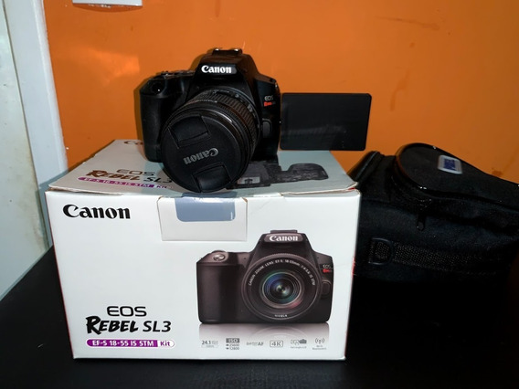 Canon Sl3 Lentes 18-55mm