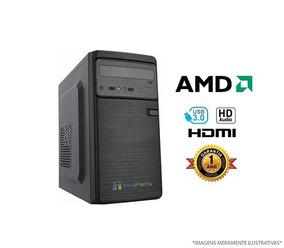 Computador Home Office Amd Fx6300 - 4gb Ram, Hd 500gb